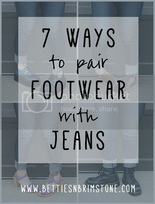 7 Ways to Pair Footwear with Jeans