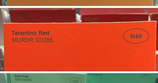 Having seen far and away too many paint color names, I think this is actually some of the real names...