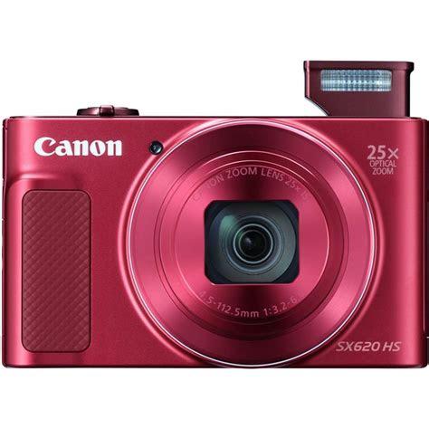 canon powershot sx hs red compact park cameras