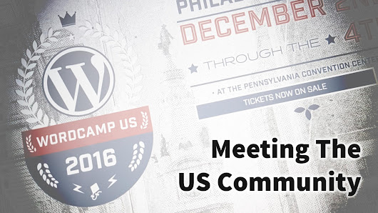 Meeting The US Community - Alain Schlesser