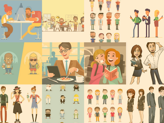Character Inspiration for Elearning Designers – zipBoard
