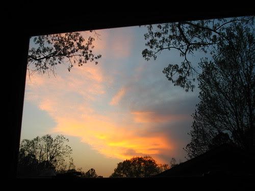 PH framed sunset