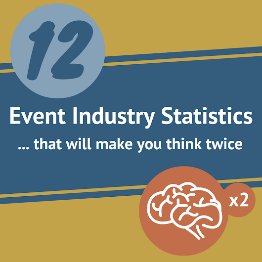 12 Event Industry Statistics That Will Make You Think Twice [Infographic]