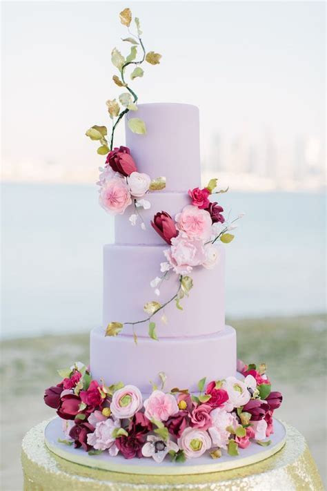 dubai dreamscape: luxurious hot pink   gold wedding