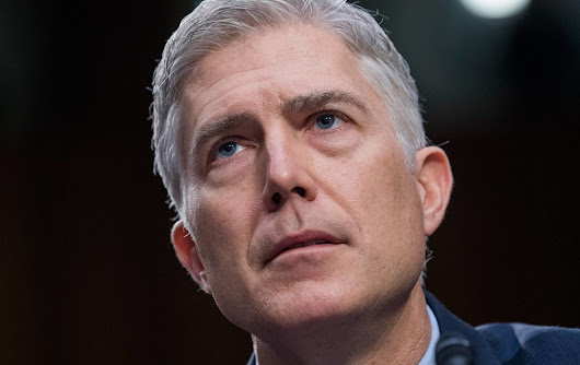 Neil Gorsuch's Own Testimony Clearly Disqualifies Him
