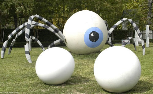 Joyce Spider and Eggs