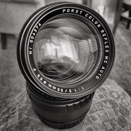 Porst MC Color Reflex 55mm F1.2 Review - Part One - Talking Tree
