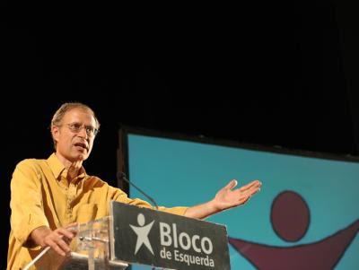 Francisco Louçã - Foto de Paulete Matos