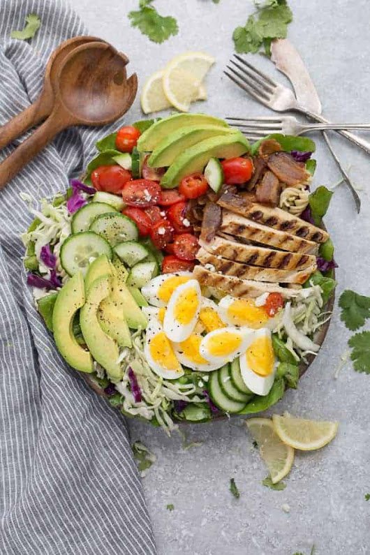 Chicken Cobb Salad - Life Made Sweeter