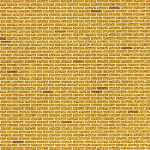 Sandhill Marketing PDK103 Model Building Materials - Brick Yellow