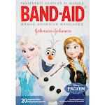 Band Aid Bandages, Adhesive, Disney Frozen, Assorted Sizes - 20 bandages