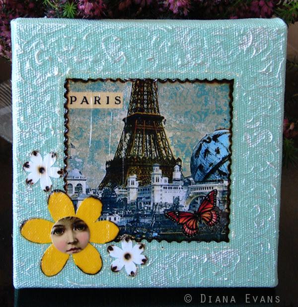 Paris Mixed Media 2