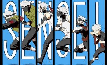 Sketsa Sasuke Dan Kakashi Versi Naruto The Movie Diperlihatkan