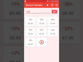 Discount Calculator - Android Apps on Google Play