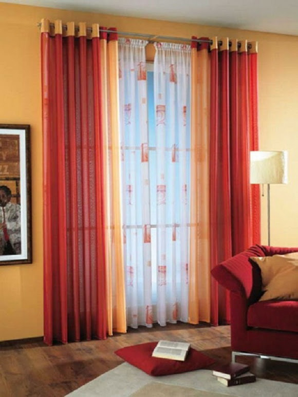 How To Combine Colors And Textures In Curtains Interior Design