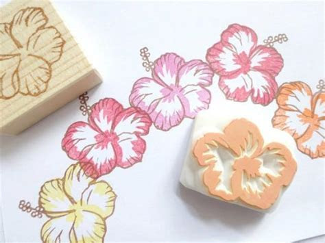 Rubber Stamps, Hibiscus Flower Decor, Wedding Invitations