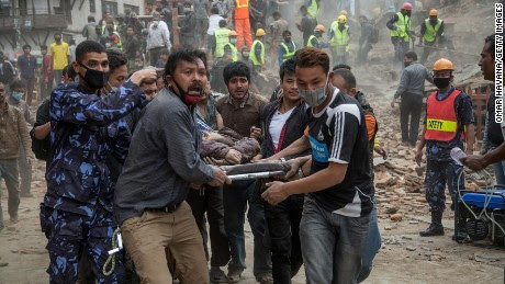 Earthquake in Nepal leaves hundreds dead  - CNN.com