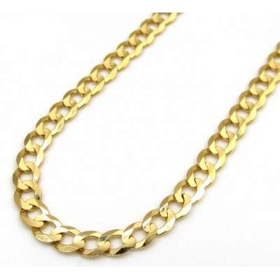 Mens 14k Gold Cuban Chains by So Icy Jewelry. 100% Real Gold