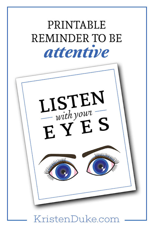Listen with Your Eyes - Capturing Joy with Kristen Duke