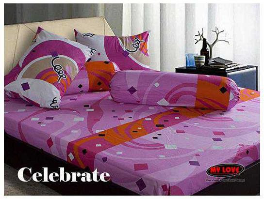 My Love GROSIR SPREI MURAH HARGA Sprei Bed Cover My Love Kinkatun