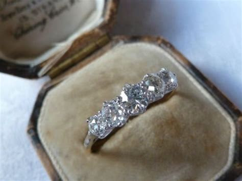 The 5 Stone Ring Thread!   The very, 5 years and Filigree