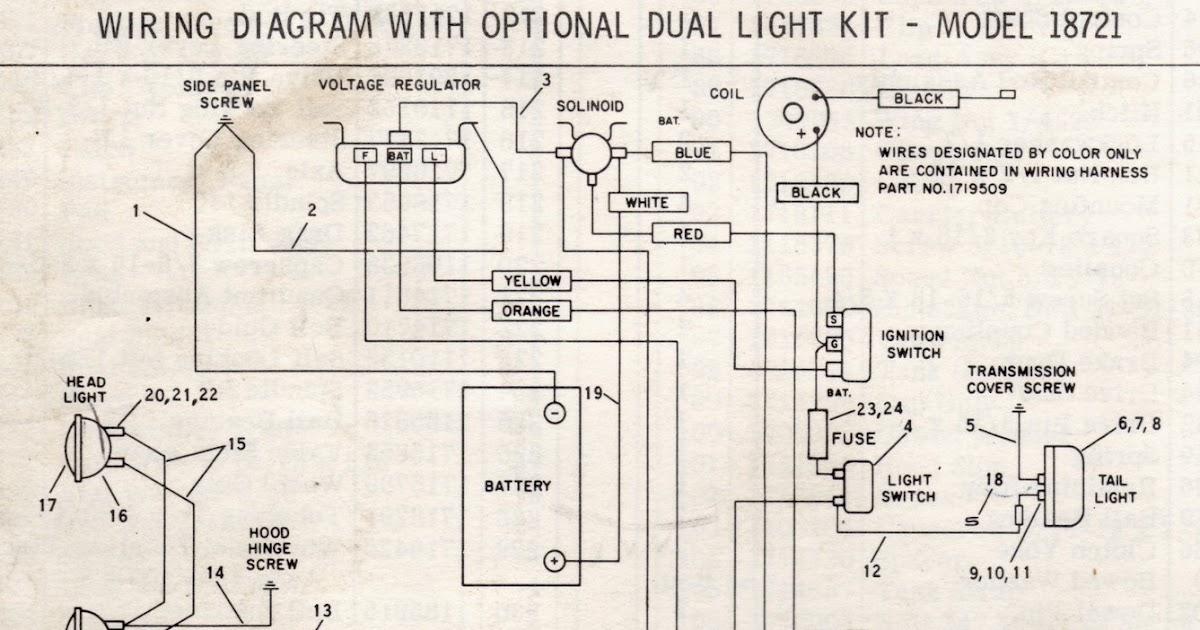 Wisconsin V4 Engine Wiring Diagram