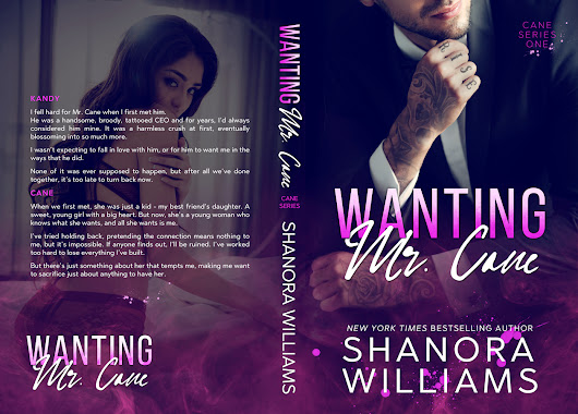 Cover Reveal: WANTING MR. CANE, an all-new Romantic STANDALONE from Shanora Williams is coming June 7th!@shanorawilliams