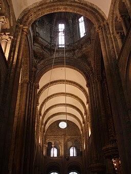 Cúpula y bóvedas de la Catedral de Santiago de Compostela