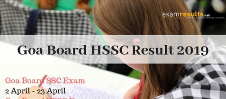 Goa HSSC results released at 10:30 AM today