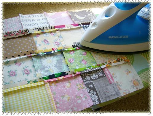 Artesanato e cia bolsa saco em patchwork - Como hacer pachwork ...