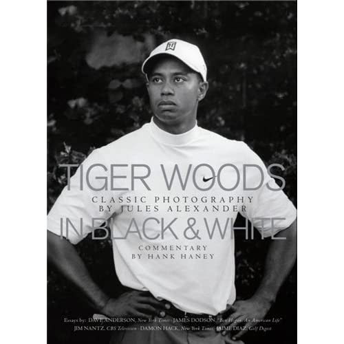Tiger Woods In Black & White
