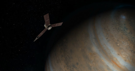NASA's Juno Spacecraft Will Soon Be in Jupiter's Grip - The New York Times