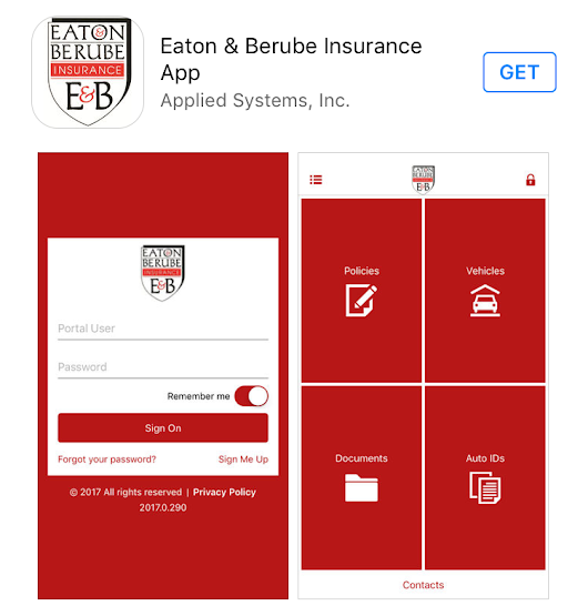 Eaton & Berube Insurance Agency Launches Mobile App