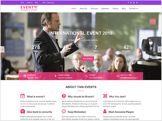 Event Star- Multipurpose Event & Conference WordPress Theme
