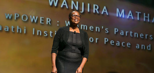 Beyond COP21 -- My Stroll with Wanjira Mathai Uploaded by Ebenezar at Your Listen