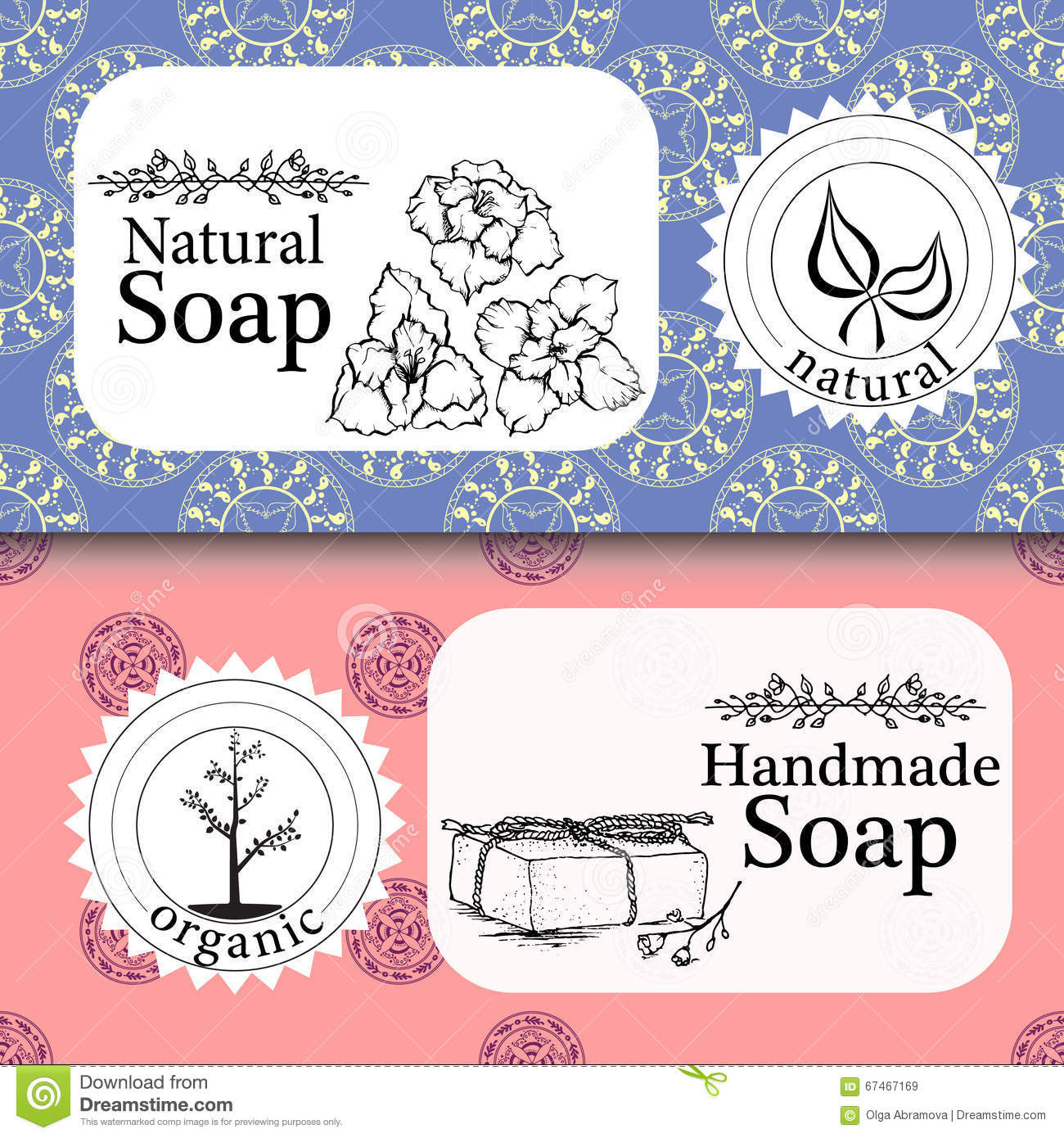 Download Handmade Soap Label Template   printable label templates