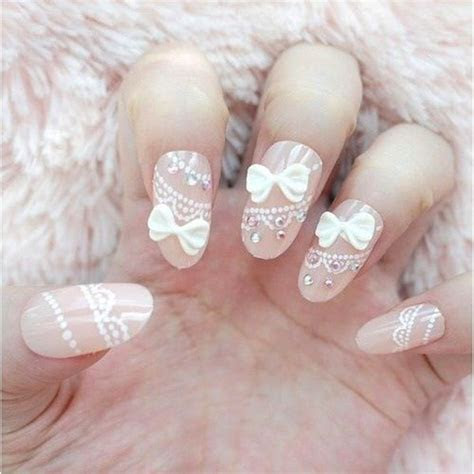 35  Most Beautiful Wedding Lace Nail Art Designs