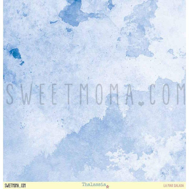 Set 12 papeles doble cara Sweet Möma - Thalassia