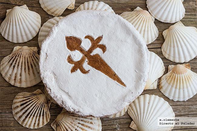 Tarta tradicional de Santiago