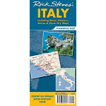 Rick Steves' Italy Planning Map: Including Rome, Florence, Venice & Siena City Maps (US, Sheet map, folded)