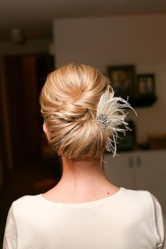 Simple  Wedding  HairStyles   Wedding  Updo  Hairstyle 804188