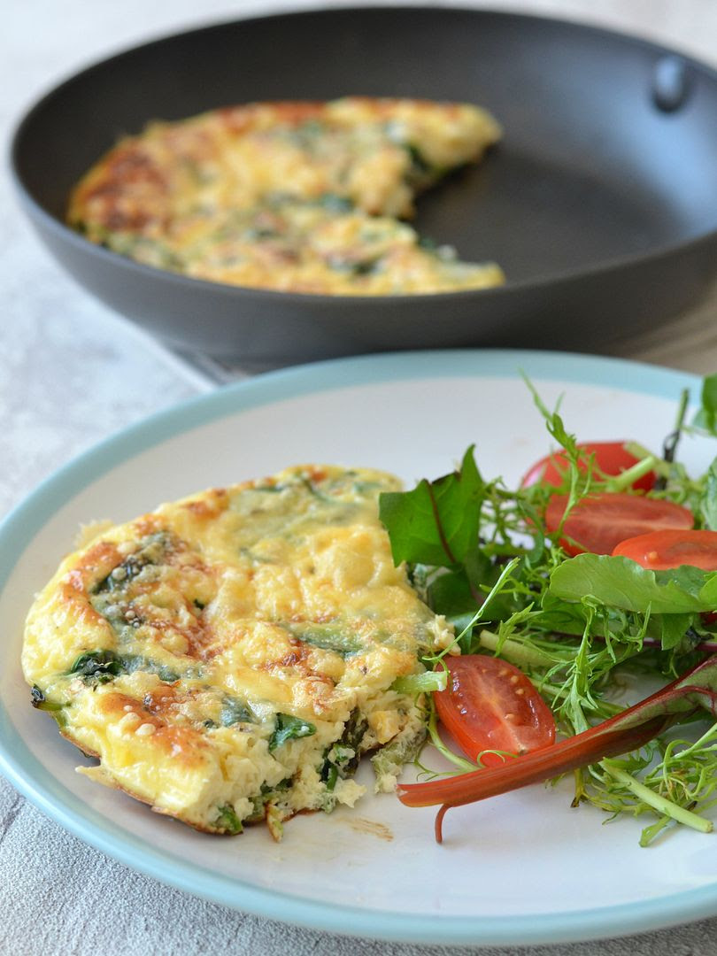 Wild Garlic & Chilli Frittata