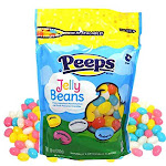 Peeps Marshmallow And Fruit Flavored Easter Jelly Beans, 10 Ounce