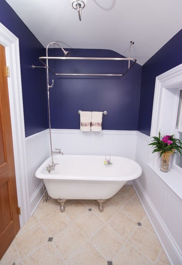 Efficient Bathroom Space Saving with Narrow Bathtubs for ...
