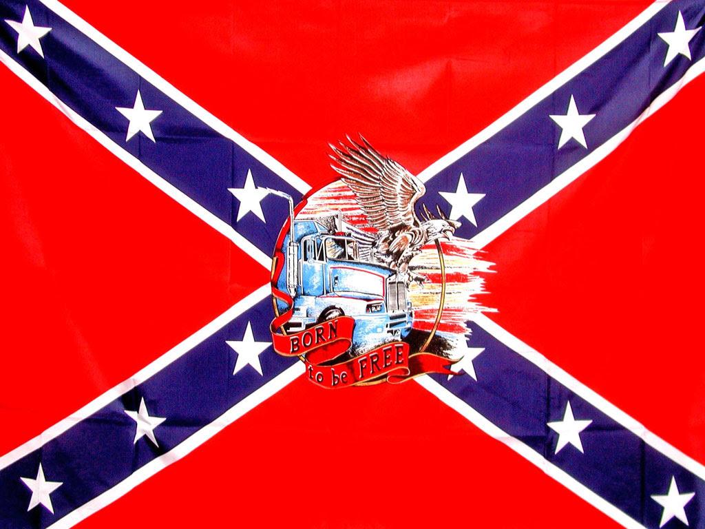 Photograf Confederate Flag Wallpaper