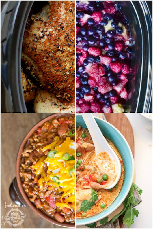 30 Slow Cooker Recipes For Every Occasion - Kids Activities Blog
