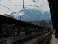 What I didn't get to: mountains from Salzburg station