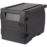 Cambro Food Pan GoBox, Insulated Transport Black - EPP300110