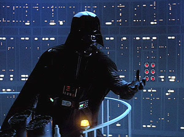 With the Dark Side beckoning, Darth Vader vows to rule the Galaxy in THE EMPIRE STRIKES BACK.