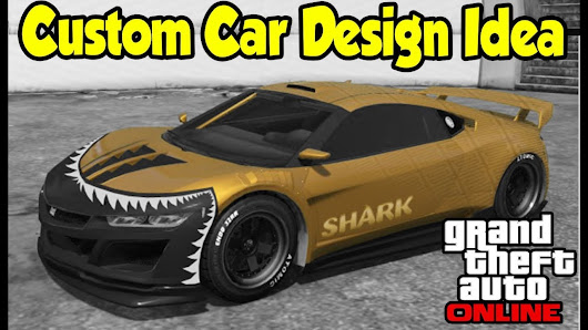 Gta 5 online custom car design idea decals vinyls gta v future dlc